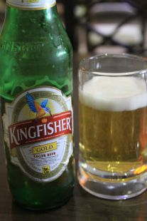 Kingfisher Beer - Agra, India