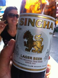 Singha beer - Bangkok, Thailand