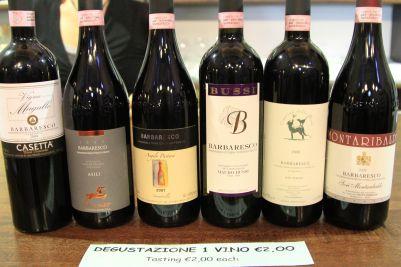 wines from Barbaresco - Italy