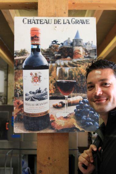 wines from Chateau de la Grave - Bourg, France