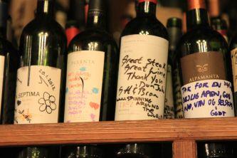 Malbec wine from Mendoza, Argentina