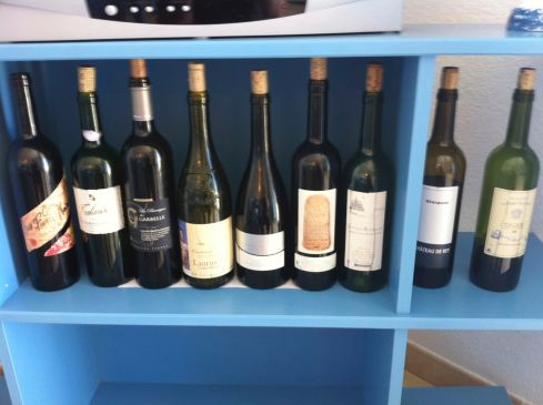 wines of Rhone Valley, France