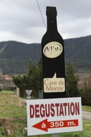 wine from Cave de Monze M'11 - Carcassonne, France