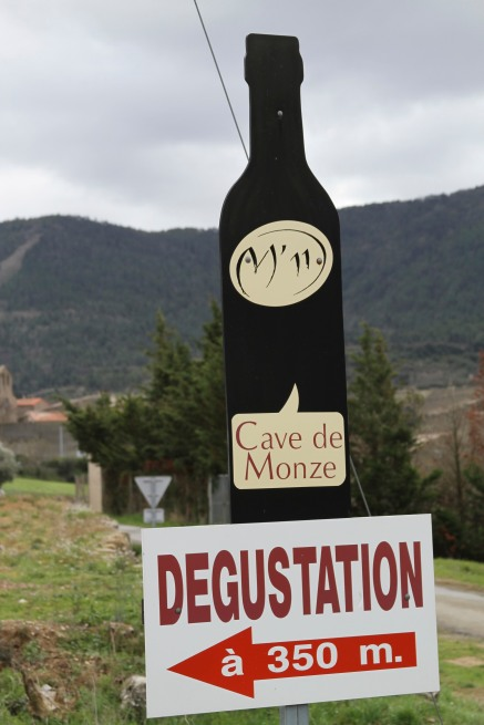 wine from Cave de Monze M'11 - Carcassonne, France