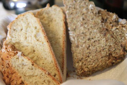 Brown Bread & White Irish Soda Bread - Dingle Ireland