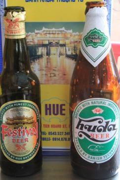 Local Beers from Hue, Vietnam