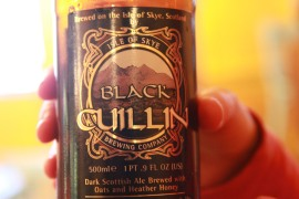 Black Cullin Beer - Isle of Skye, Scotland