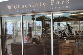 Tea at Chocolate Park - Canet en Rousillon, France