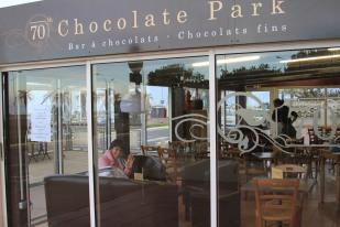 Tea at Chocolate Park - Canet en Rousillon, France