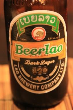 Beer Lao Dark Lager - Luang Prabang, Laos