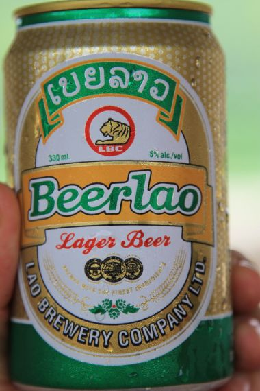 Beer Lao - Mekong River, Laos
