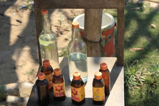 Moonshine Whiskey - Mekong River, Laos