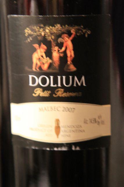 Dolium Petit Reserva Malbec - Mendoza, Argentina