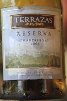 Terrazas Reserva Chardonnay - Mendoza, Argentina