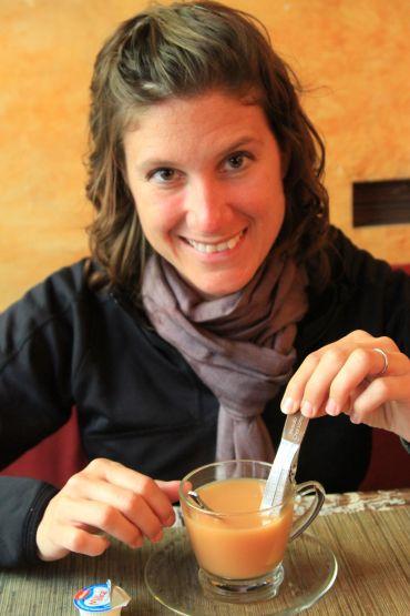 Masala Chai Latte - New Delhi, India