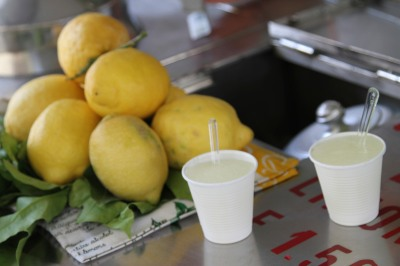 fresh lemondade from Positano, Italy