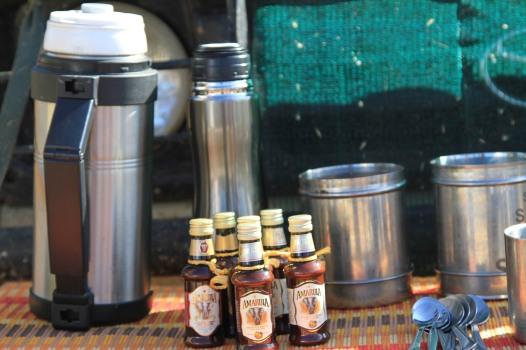 Coffee with Amarula - Madikwe, South Africa