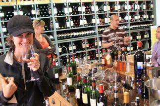 wine tasting in Saint Emilion - France