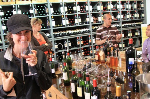 wine tasting in Saint Emilion - France