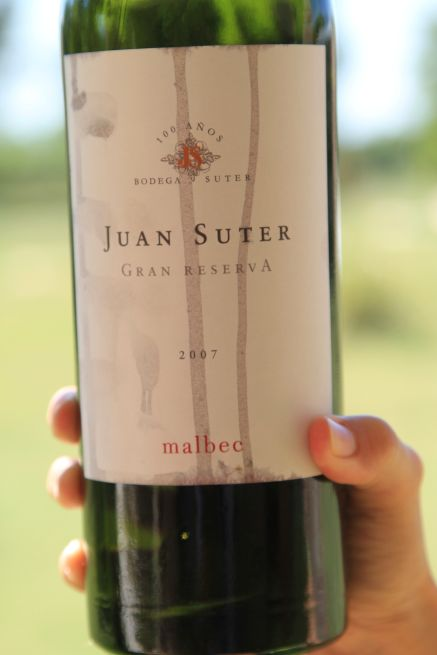 Juan Suter Gran Reserva Malbec - San Rafael, Argentina