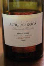 Alfredo Roca Pinot Noir - San Rafael, Argentina