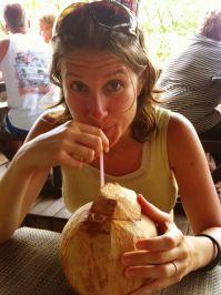 fresh coconut - Savusavu, Fiji