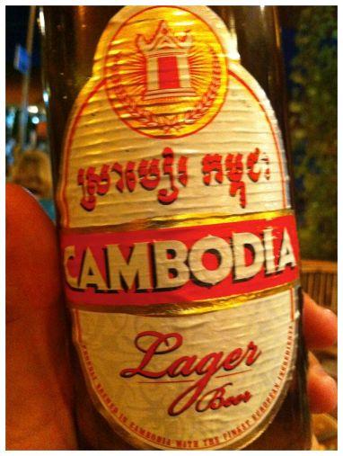 Cambodia Lager - Siem Reap, Cambodia