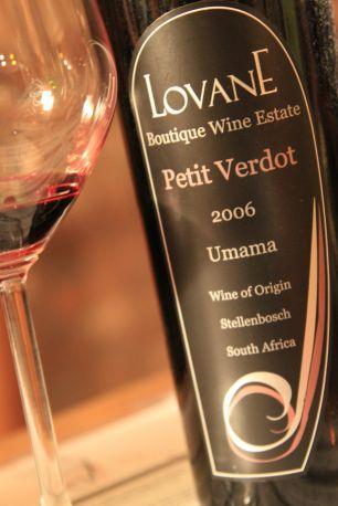 Petit Verdot from Lovane - Stellenbosch, South Africa