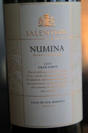 Salentein Numina - Valle de Uco, Mendoza