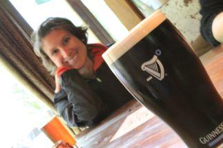 pint of Guinness - Warwick, England