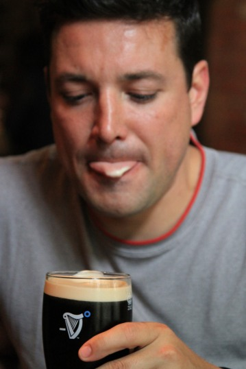 pint of Guinness - Warwick, England