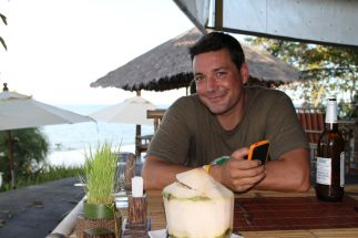 fresh coconut juice - Yao-Yai, Thailand
