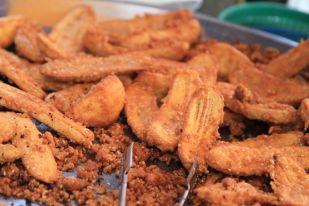 Banana Fritters - streets of Bangkok, Thailand