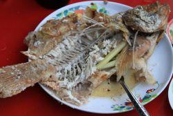 Ba Dang whole fish - streets of Bangkok, Thailand