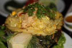 Pineapple Rice at The Good View - Chiang Mai, Thailand