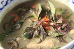 Green Curry at Chiang Mai Thai Cookery School - Chiang Mai, Thailand