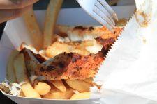 fish and chips - Coffs Harbor, Australia