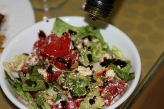 homemade salad - Coffs Harbor, Australia