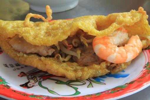Shrimp Pancakes - Hue, Vietnam