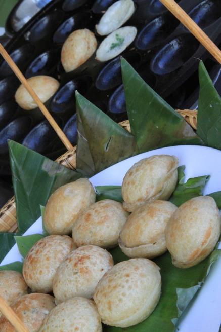 Lao Pancake - Luang Prabang, Laos