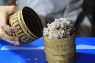 Sticky Rice - Pakbeng, Laos