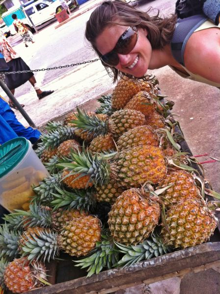 pineapples - Savusavu, Fiji