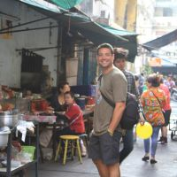 Day 328 of 400: Eating street food in Bangkok - Thailand